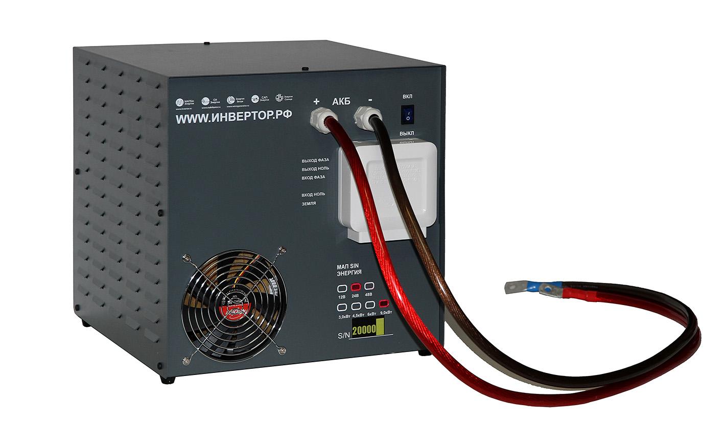 Инвертор для солнечных батарей 5