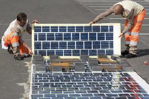 Во Франции построят 1000-километровую дорогу из солнечных панелей