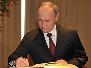 Путин поручил кабмину уделять внимание ВИЭ