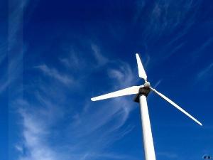 Видео со стройки ветропарка в Ульяновской области
