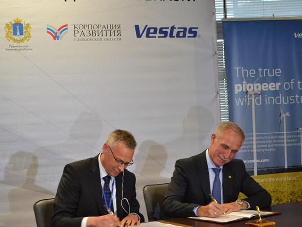 Датчане построят в России завод по производству лопастей для ветрогенераторов