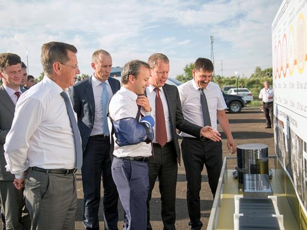 В Астраханской области состоялась торжественная церемония пуска солнечной фотоэлектростанции