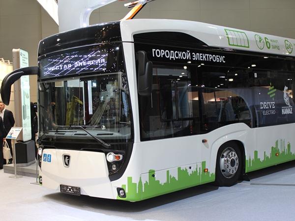 Мосгортранс получил от Камаза новый электробус для испытаний