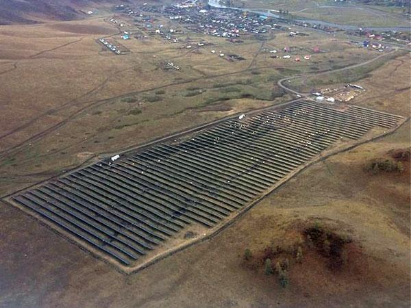 На Алтае заработала четвертая солнечная электростанция
