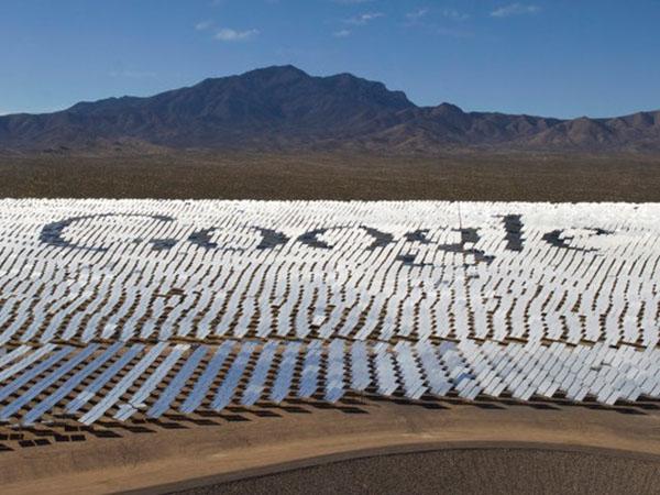 Google полностью перешел на возобновляемые источники энергии