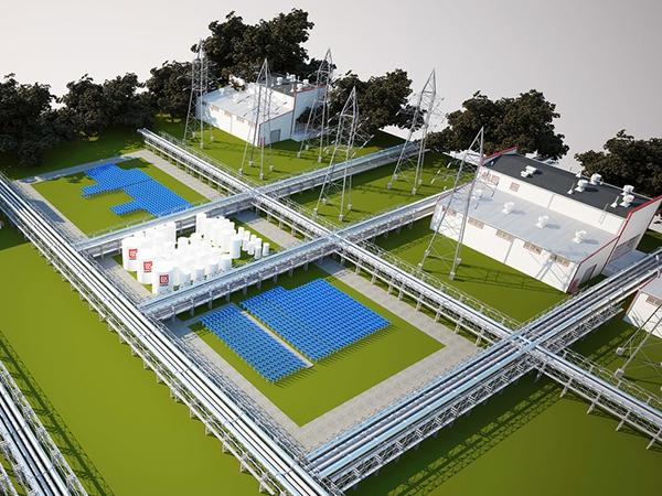 Волгоградская солнечная электростанция мощностью 10 МВт начала отпуск электроэнергии в сеть
