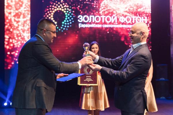 Названы победители и лауреаты Евразийской светотехнической премии «Золотой Фотон»