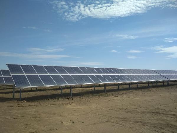 Солнечная электростанция «Нива» в Астраханской области станет крупнейшей в России