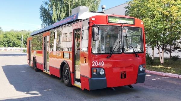 Ижевское автопредприятие выпустило энергосберегающий троллейбус
