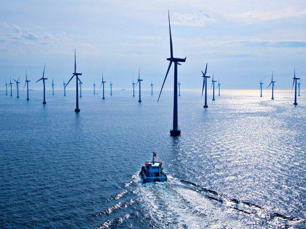 В Ирландском море открылась крупнейшая в мире морская ветроэлектростанция