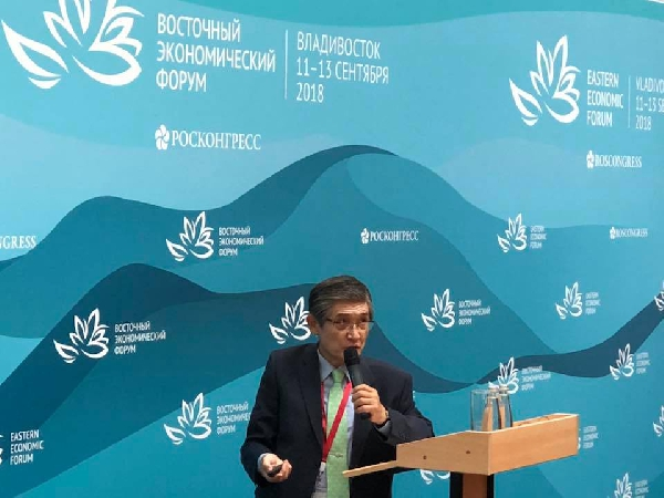 Человечество стоит на пороге трех глобальных вызовов. Лекция Рае Квон Чунга состоялась в рамках «Энергии знания» на ВЭФ-2018