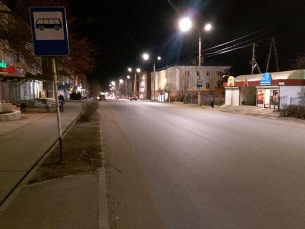 Уличное освещение в Вятских Полянах модернизировали благодаря энергосервису // Кировская область