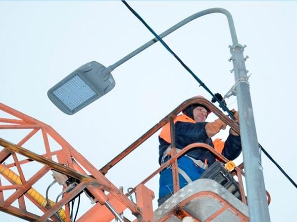 Новая система уличного освещения Ростова значительно энергоэффективней прежней