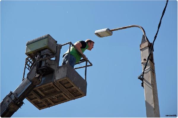 Все уличные фонари в Липецке поменяют на энергоэффективные