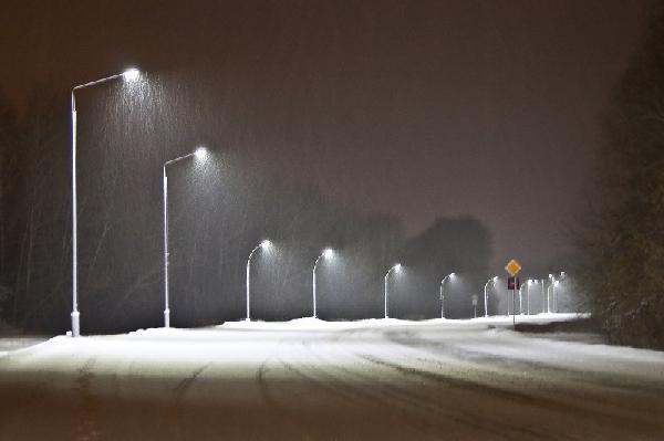 В Великом Новгороде объявили аукцион на модернизацию уличного освещения в Великом Новгороде